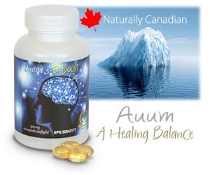 Auum omega 3 boost capsules